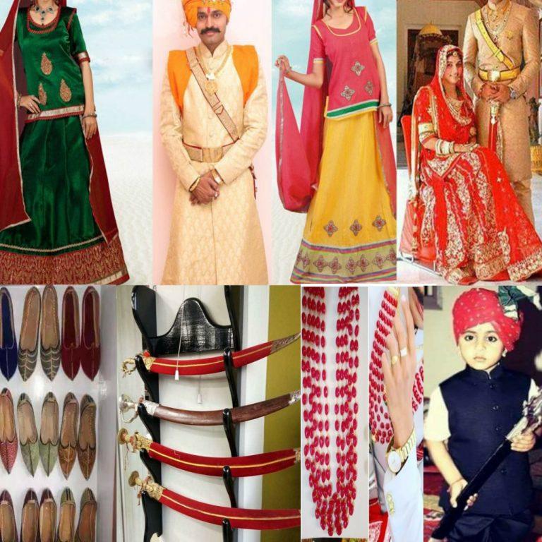 Rohida Rajputi wedding accessories Men's And Kid's Clothing