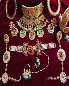 Rajputi artificial jewellery Rajputi jewellery combo set