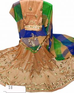 Satan Suit Single Colour Thakurji Pure Odhana