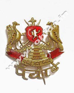 Panwar Cap Brooch Logos