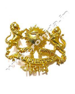 Chauhan Cap Brooch Logos
