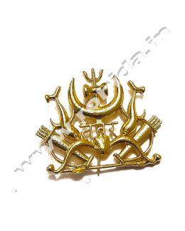 Tanwar Cap Brooch ( Logos )