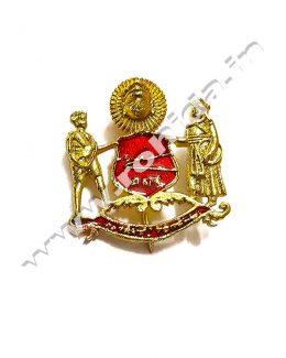 Mewar Cap Brooch ( Logos )