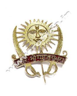 Veer Bhogya Vasundhara Cap Brooch ( Logos )