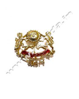 Chauhan collar Brooch ( Logos )