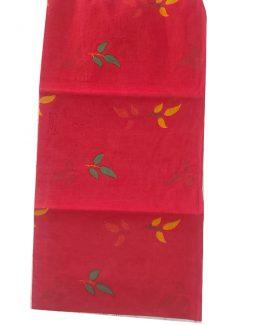 Flower Printed  Cotton Odhana