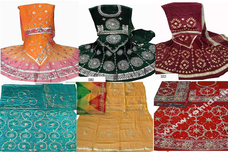 Types of Rajputi poshak