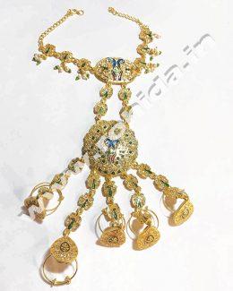 5 – Rings  Hathphool Meenakaari And Kundan Work