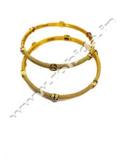 Beautiful Rajasthani Gold Plated Do Chudi Set