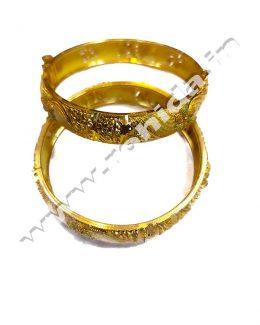 Beautiful Rajasthani Gold Plated  Chudi Set