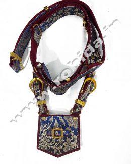 Blue Wedding Cross belt
