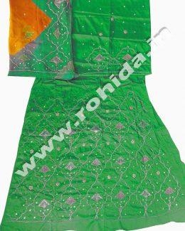 satan suit pyor odhna with kardhana aari resham   hand work poshak