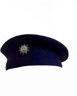 Blue RAJPUTANA BERET CAP