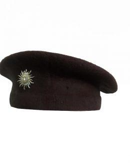 Brown Colour RAJPUTANA BERET CAP