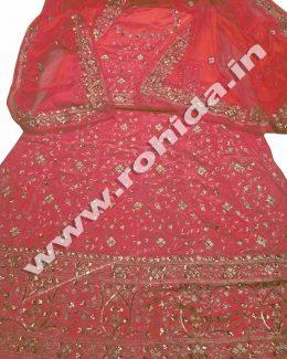 Gaajari colour  aari taari jarri work thakurji pyor odhna