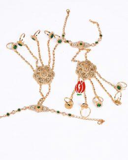 5 – Ring's Hathphool Jadai Hand Setting