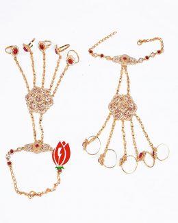 5 – Ring's Hathphool Jadai Goldlook Hand Setting