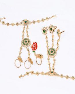 3 – Ring's Hathphool Goldlook Jadai Hand Setting