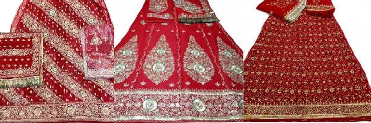 Rajputi wedding poshak / rajputi bridal poshak